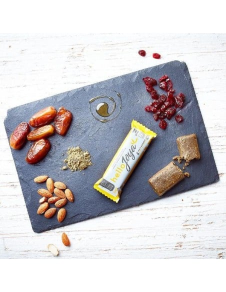 Barre énergétique BIO - Chanvre Banane et Chocolat