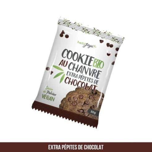 Cookie BIO - Chanvre Extra Pépites de Chocolat