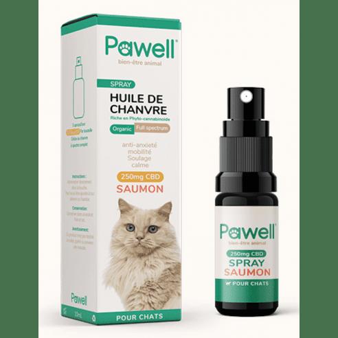 Spray au CBD pour chats - Saumon