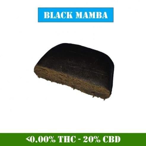 Hash CBD - Black Mamba Résine