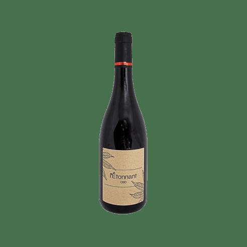 Vin rouge au CBD - L'étonnant